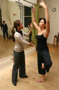 ballet posture