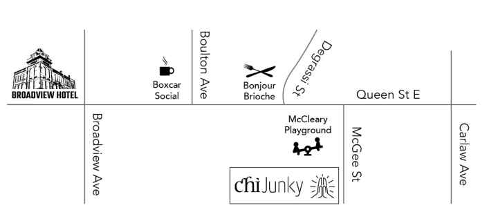 Chi Junky Map