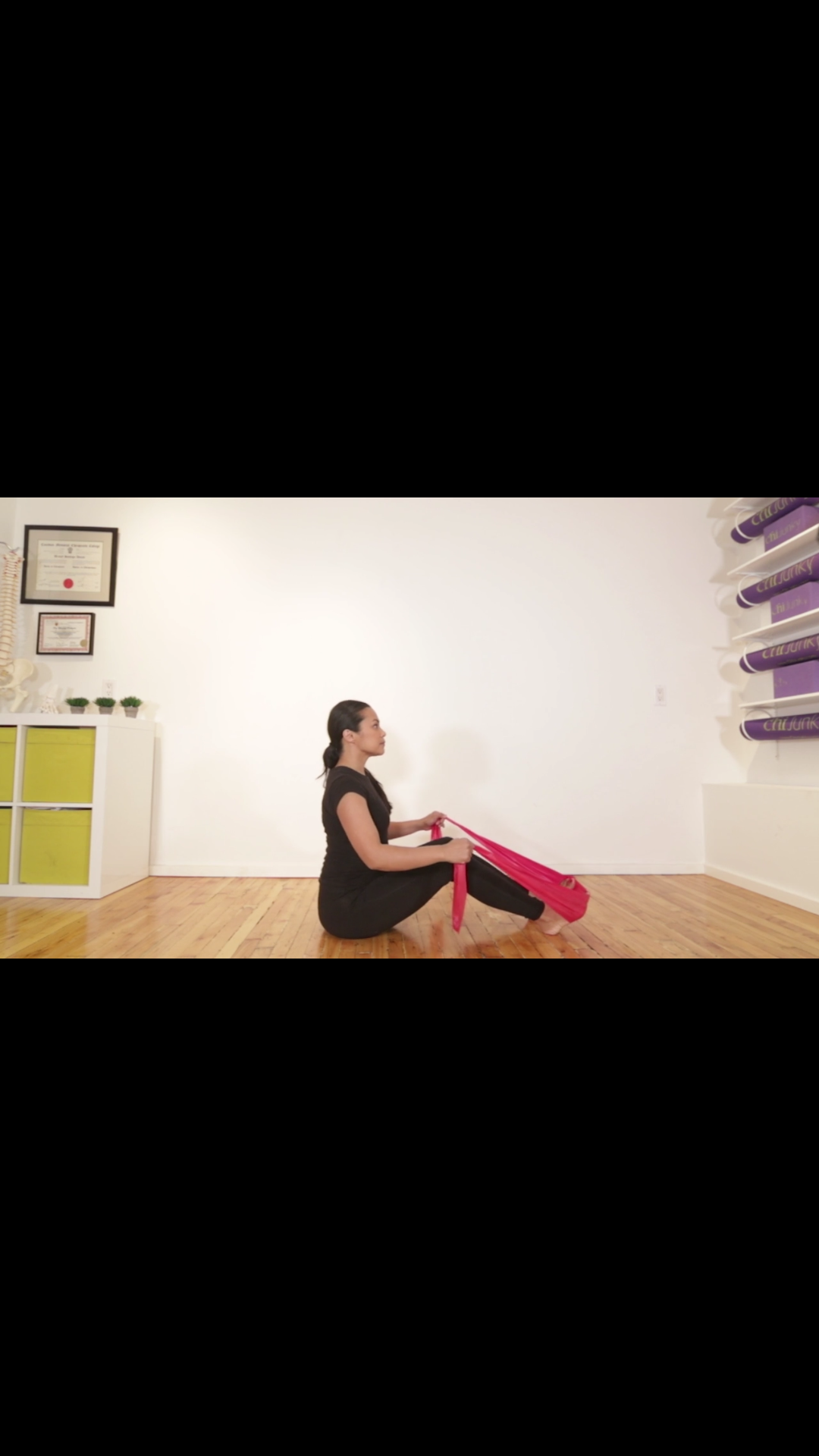 Video: Pilates Half Roll Back for Low Back Stiffness and Core Activation