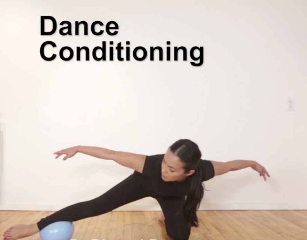 My favourite exercise that improves balance and strength while you dance.
