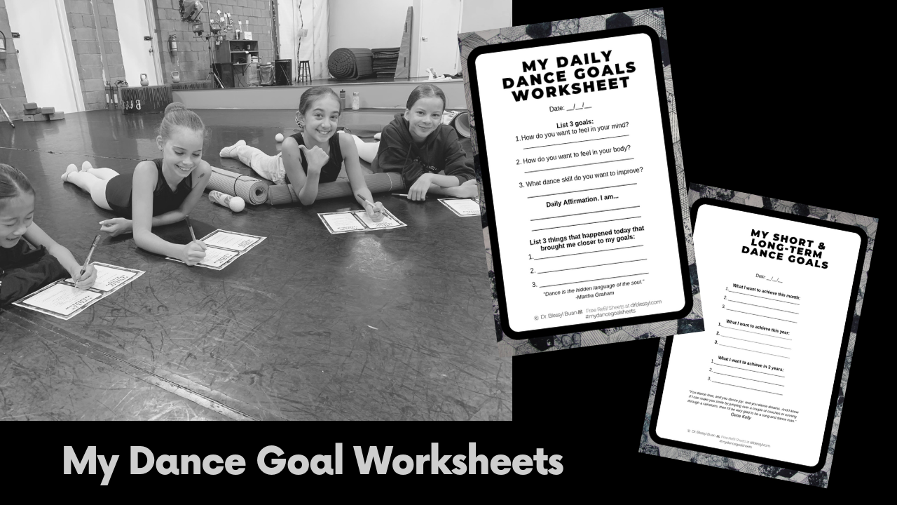 New Resource to help dancers achieve goals.